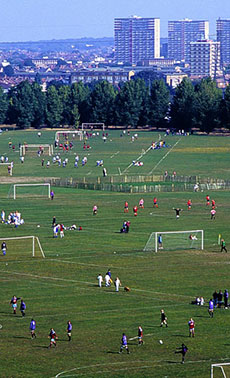 Playing Pitches & Outdoor Sports